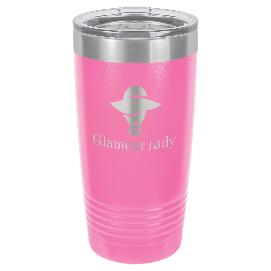 Pink Stainless Steel Tumbler